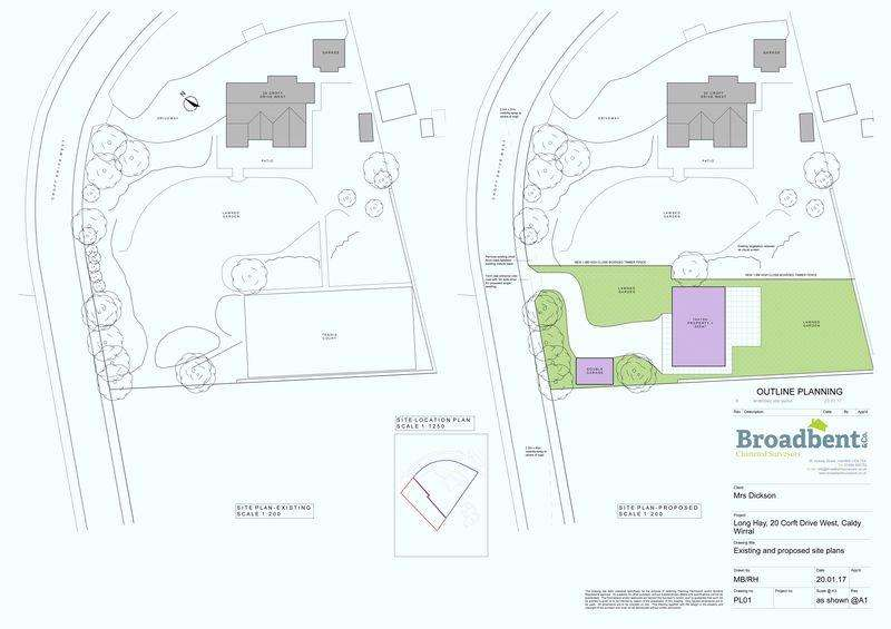 Land Commercial for sale in Croft Drive West, Caldy