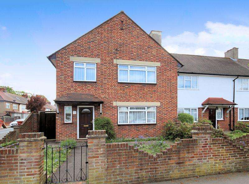 3 Bedrooms Semi Detached House for sale in Tenterden Road, Addiscombe