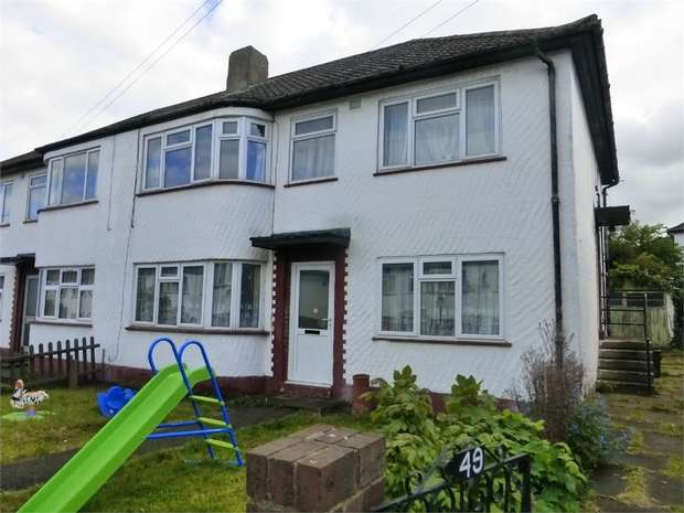 2 Bedrooms Maisonette Flat for sale in Otterburn Gardens, Isleworth, Middlesex