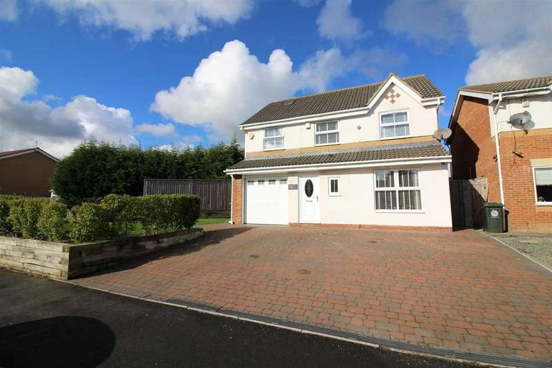 4 Bedrooms Detached House for sale in Lansdowne Road, Forest Hall, Newcastle Upon Tyne