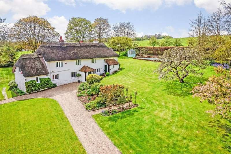 5 Bedrooms Detached House for sale in Longstock, Stockbridge, Hampshire