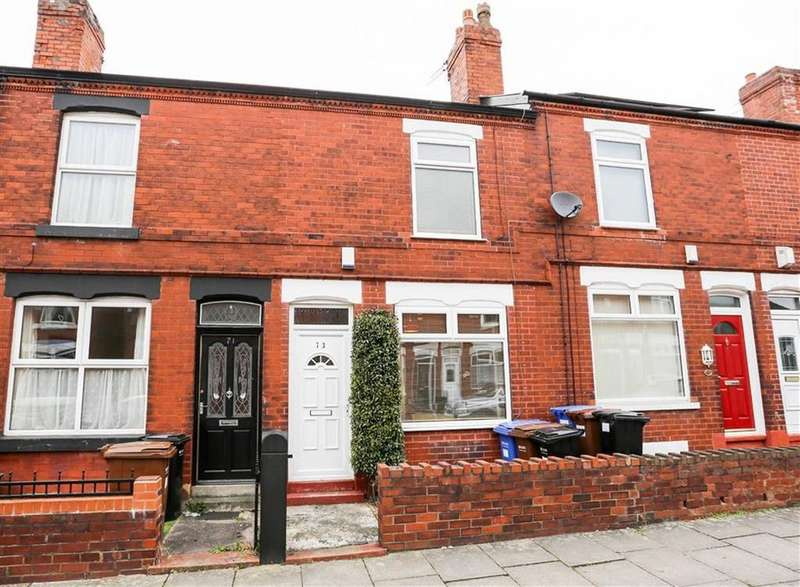 2 Bedrooms Terraced House for sale in Regent Road, Heaviley, Stockport