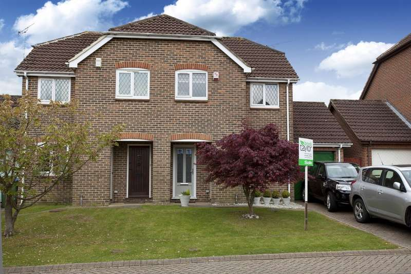 2 Bedrooms Semi Detached House for sale in Sloughbrook Close, Horsham