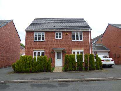 3 Bedrooms Detached House for sale in The Infield, Henley Grange, Halesowen, West Midlands