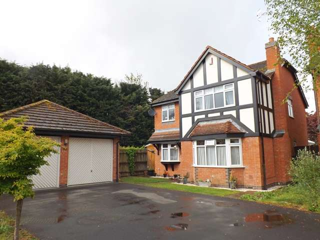 4 Bedrooms Detached House for sale in Priors Walk, Evesham