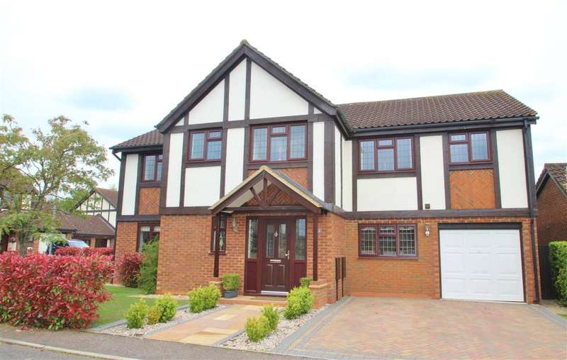5 Bedrooms Detached House for sale in Kestrel Way, Buckingham