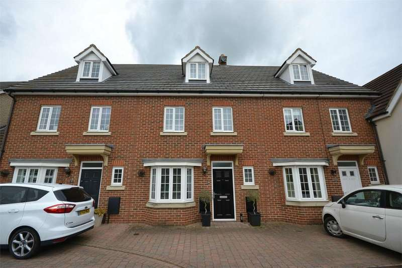 4 Bedrooms Terraced House for sale in Baden Powell Close, Great Baddow, Chelmsford, Essex