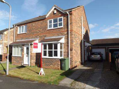 2 Bedrooms Semi Detached House for sale in Yoredale Close, Ingleby Barwick, Stockton On Tees