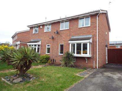 3 Bedrooms Semi Detached House for sale in Swallowdale Drive, Anstey Heights, Leicester, Leicestershire