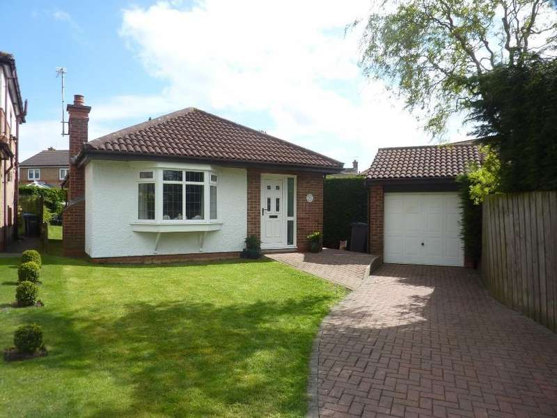 2 Bedrooms Detached Bungalow for sale in Crestbrooke, Northallerton