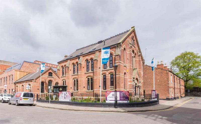 2 Bedrooms Flat for sale in Apartment 7, Chapel Place, Albion Street, Chester