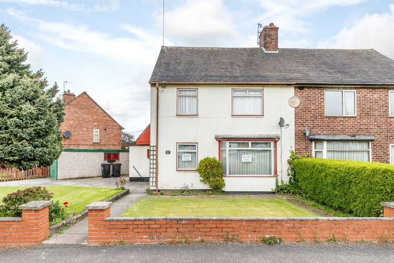3 Bedrooms Semi Detached House for sale in Hereford Avenue, Newcastle under Lyme, Staffordshire ST5 3EJ