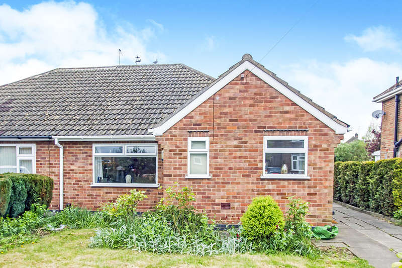 3 Bedrooms Semi Detached Bungalow for sale in Willow Park Drive, Wigston, LE18