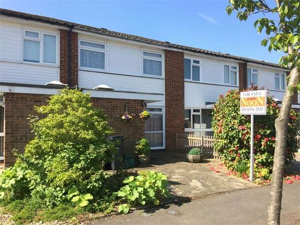 3 Bedrooms Terraced House for sale in Kelvin Close, West Ewell