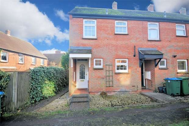 2 Bedrooms End Of Terrace House for sale in Little Hampden Close, Wendover, Buckinghamshire