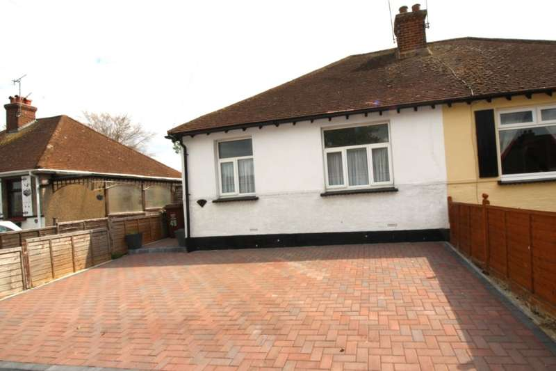 3 Bedrooms Semi Detached Bungalow for sale in Bradfields Avenue, Chatham, ME5