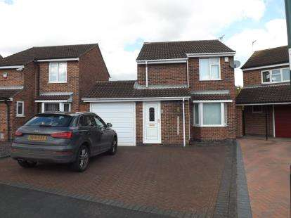 3 Bedrooms Detached House for sale in The Leys, Barton Green, Nottingham