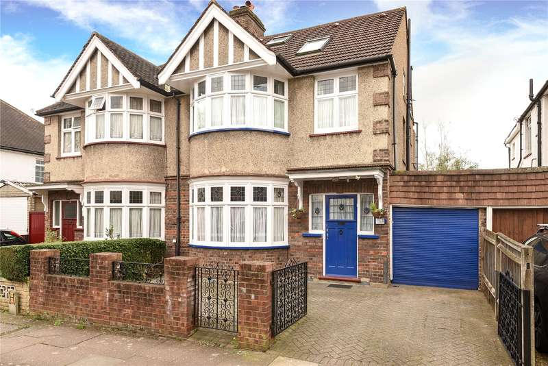 4 Bedrooms Semi Detached House for sale in Rusland Park Road, Harrow, Middlesex, HA1