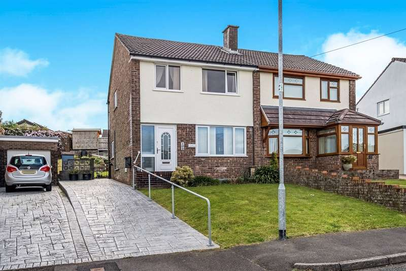 3 Bedrooms Semi Detached House for sale in Glannant Way, Cimla, Neath