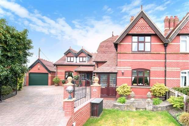 3 Bedrooms Semi Detached House for sale in Red Cottages, Corsley, Warminster