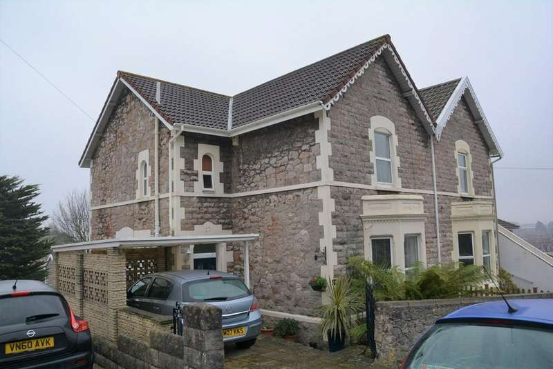 3 Bedrooms Semi Detached House for sale in Manor Road, Weston-super-Mare