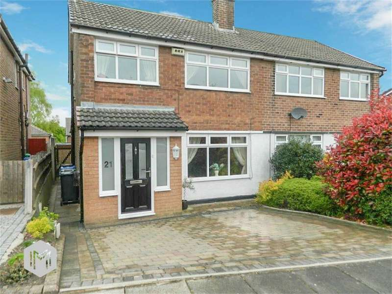 3 Bedrooms Semi Detached House for sale in Wilton Drive, Bury, Lancashire