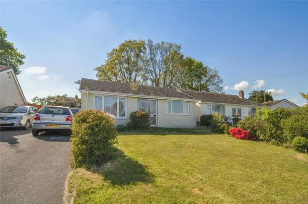 3 Bedrooms Detached Bungalow for sale in Swallow Way, WIMBORNE, Dorset