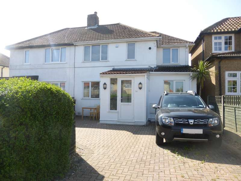 4 Bedrooms Semi Detached House for sale in Shaxton Crescent, New Addington, CR0 0NU