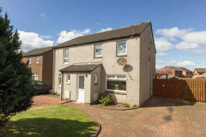 3 Bedrooms Semi Detached House for sale in Cairnfore Avenue, Troon