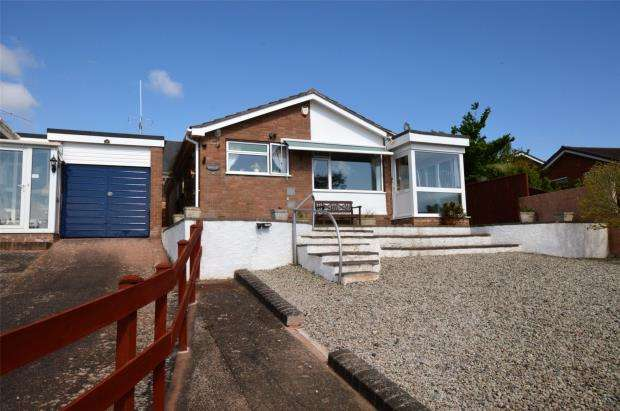 3 Bedrooms Detached Bungalow for sale in Haley Close, Exmouth, Devon