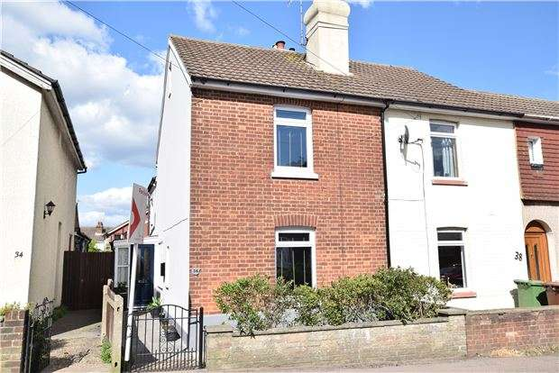 2 Bedrooms End Of Terrace House for sale in High Brooms Road, TN4 9DB