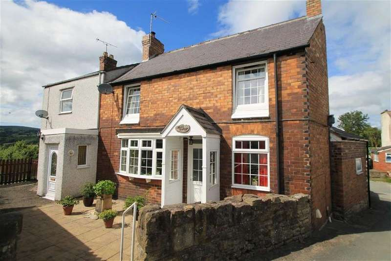 2 Bedrooms Semi Detached House for sale in Moss Cottages, Cefn Mawr, Wrexham
