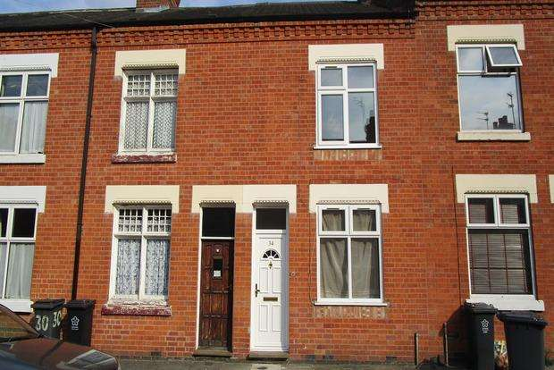2 Bedrooms Terraced House for sale in Henton Road, Leicester, LE3