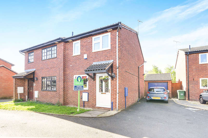 2 Bedrooms Semi Detached House for sale in Harvest Close, Stoke Heath, Bromsgrove, B60
