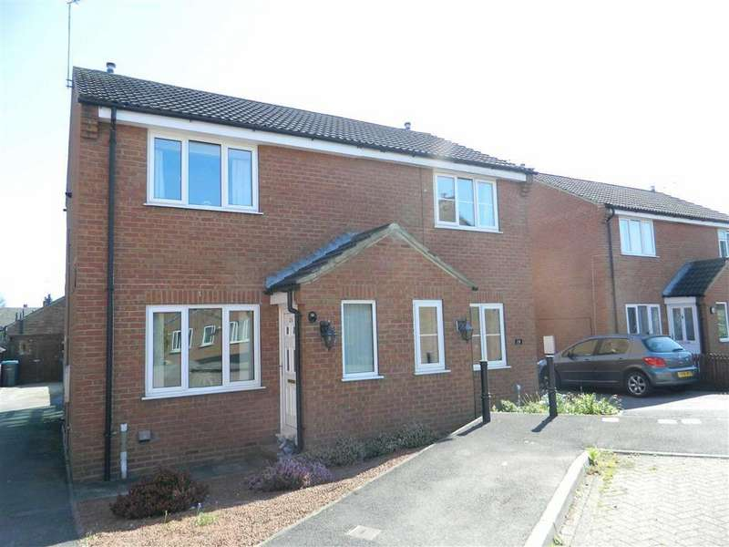 2 Bedrooms Semi Detached House for sale in Rymer Way, Thirsk
