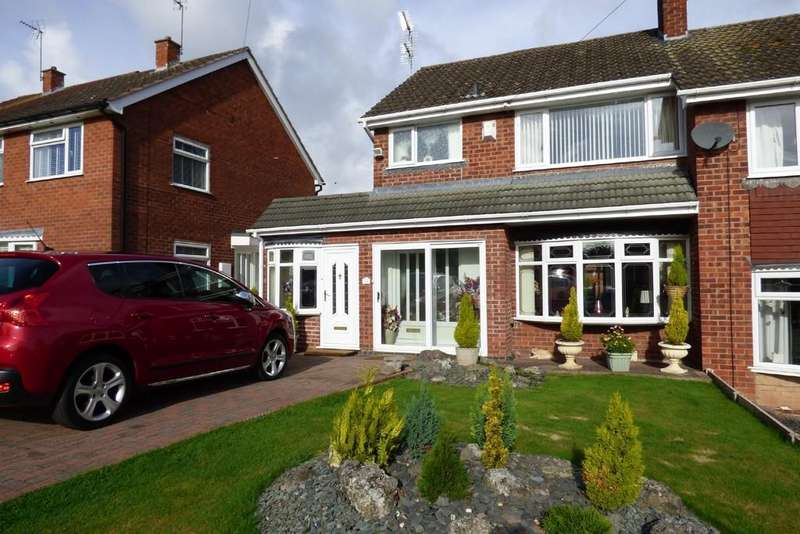 3 Bedrooms Semi Detached House for sale in Wordsworth Avenue, Stafford