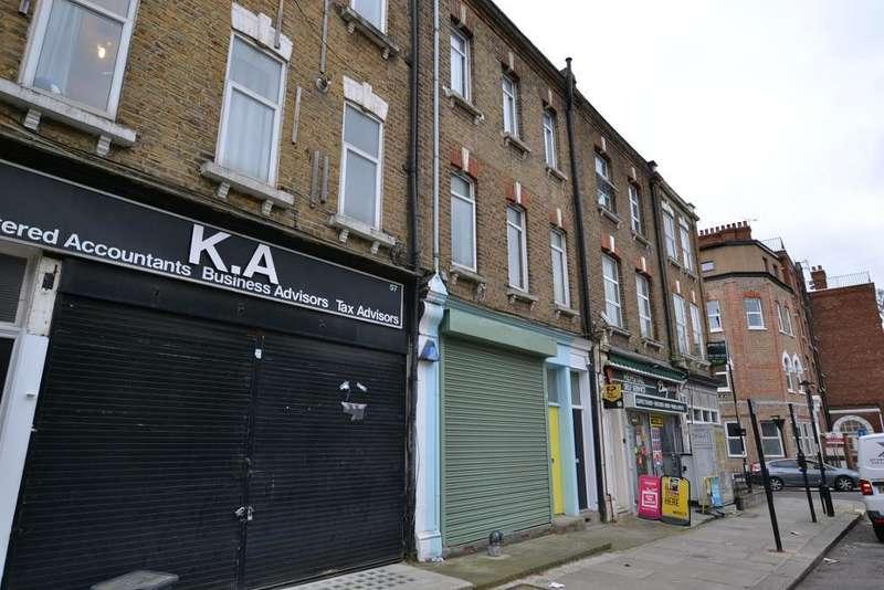 1 Bedroom Flat for sale in Hemstal Road, West Hampstead