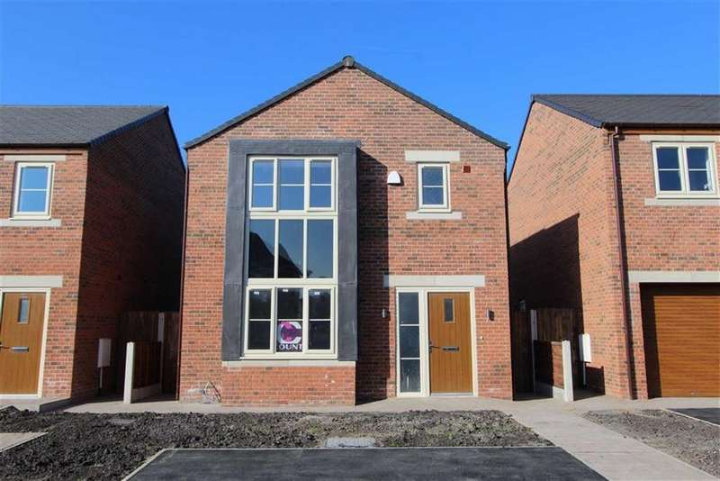 3 Bedrooms Detached House for sale in Plot 8, Meadow Rise, Preston, Lancashire