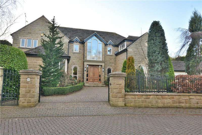 5 Bedrooms Detached House for sale in Stonebridge, Wigton Chase, Alwoodley, Leeds, West Yorkshire