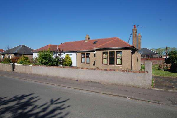 2 Bedrooms Semi Detached Bungalow for sale in 13 Braehead Avenue, Ayr, KA8 0JS