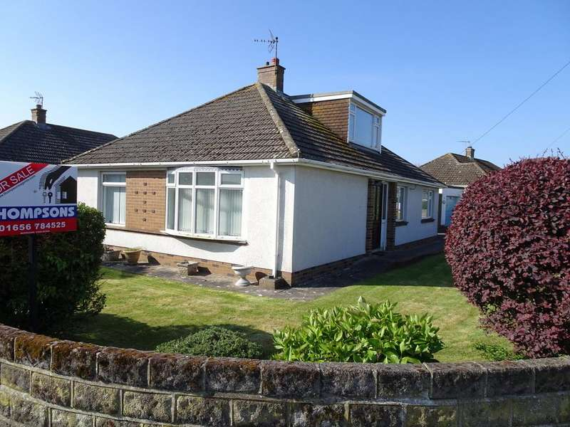 3 Bedrooms Detached Bungalow for sale in CONNAUGHT CLOSE, NOTTAGE, PORTHCAWL CF36 3SL