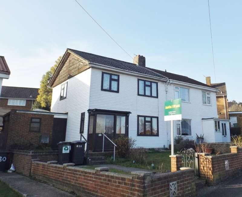 3 Bedrooms Semi Detached House for sale in Minden Way, Winchester, Hampshire, SO22 4DT