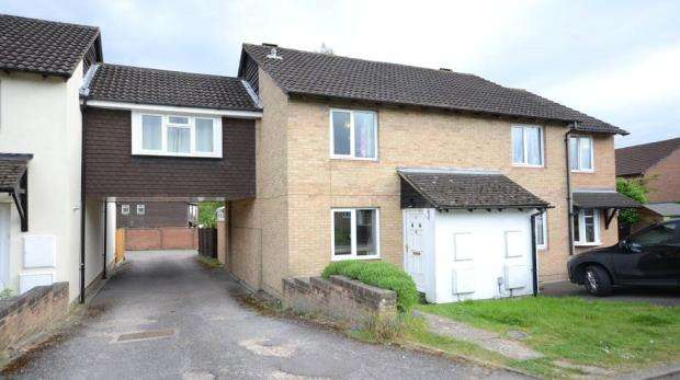 2 Bedrooms End Of Terrace House for sale in Derrick Close, Calcot, Reading