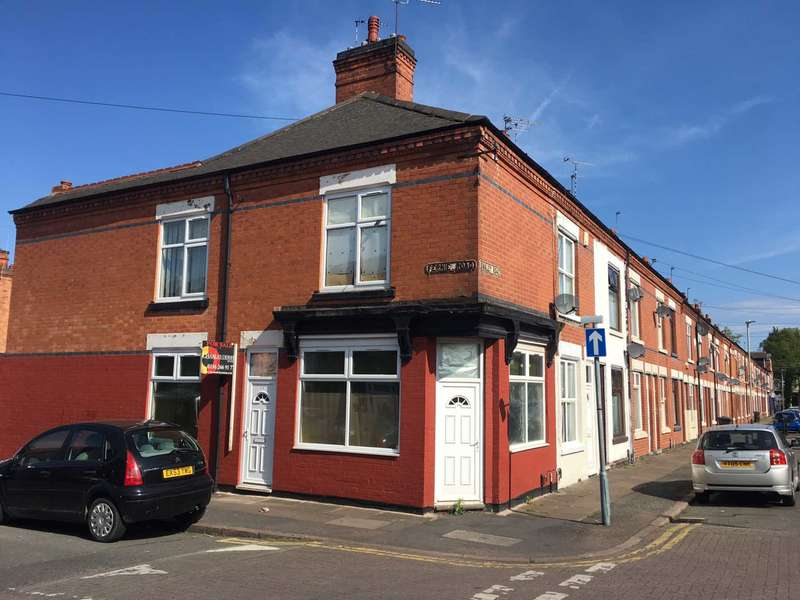3 Bedrooms End Of Terrace House for sale in Fernie Road, Leicester