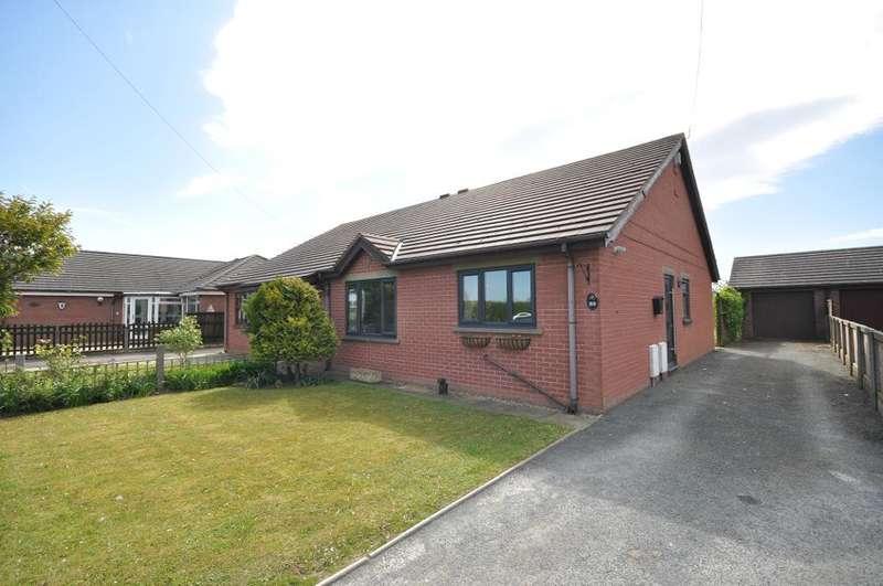 2 Bedrooms Semi Detached Bungalow for sale in Green Lane West, Freckleton, Preston, Lancashire, PR4 1SL