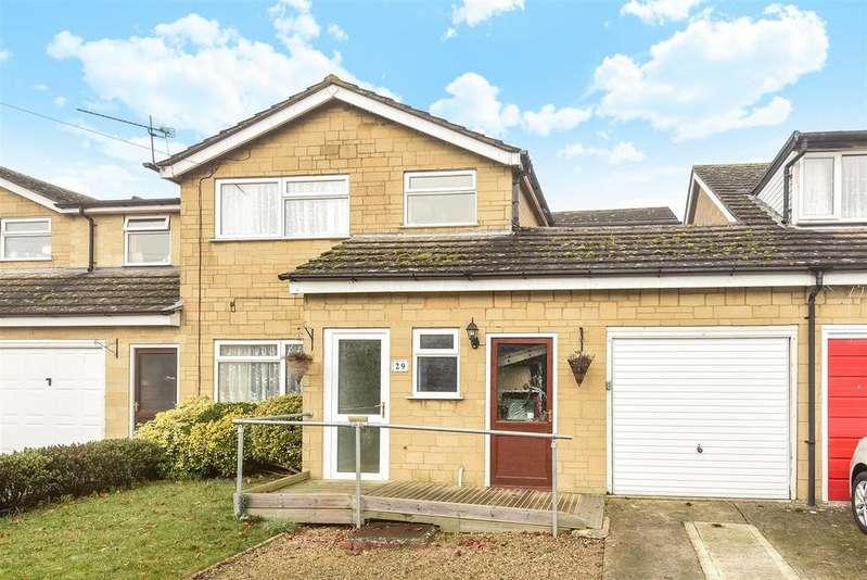 4 Bedrooms Link Detached House for sale in Woodbridge Close, Aston, Bampton