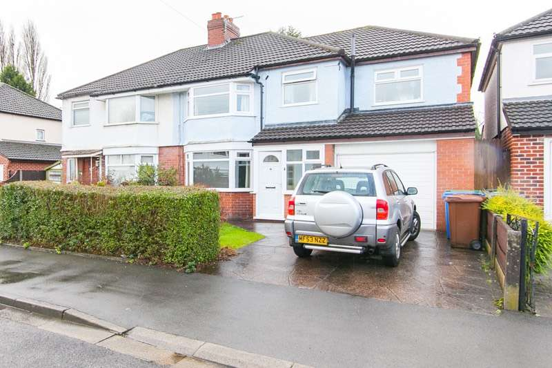 4 Bedrooms Semi Detached House for sale in Briarfield Road, Cheadle Hulme, CHEADLE, Cheshire, SK8