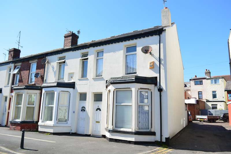 3 Bedrooms End Of Terrace House for sale in Ribble Road, Blackpool, FY1 4AB