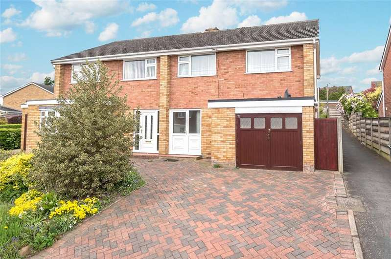 3 Bedrooms Semi Detached House for sale in Dunval Road, Bridgnorth, Shropshire
