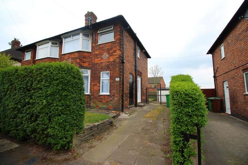 2 Bedrooms Semi Detached House for sale in Orville Road, Basford, Nottingham NG5